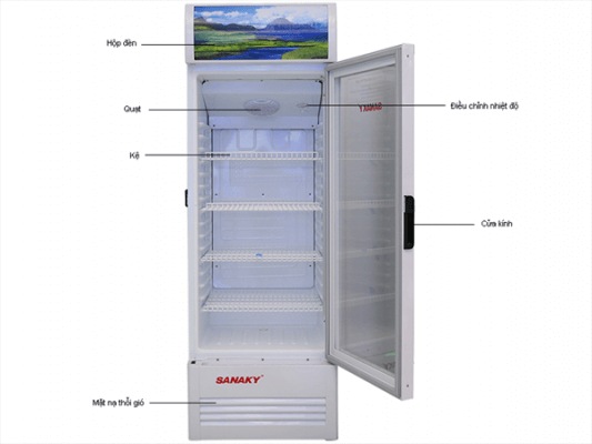 Tủ mát Inverter Sanaky VH-308K3